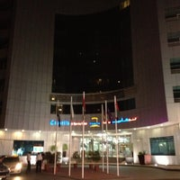 Photo taken at Cassells Al Barsha Hotel by Oxana G. on 10/10/2012
