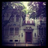 Photo taken at Museu de Arte da Bahia by Marcelo R. on 12/7/2012