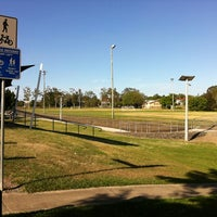 Photo taken at Annerley Football Club by Omid on 12/2/2012
