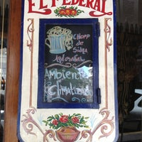 Photo taken at Bar El Federal by Michelle on 12/30/2012