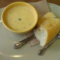 Photo taken at Panera Bread by Juan F. on 10/27/2012