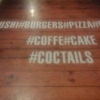 Снимок сделан в #sushi#burgers#pizza#pepino#coffee#cake#cocktails пользователем Dmitriy A. 10/17/2014