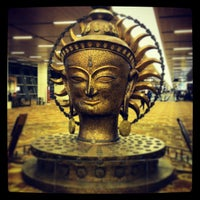 Photo taken at Indira Gandhi International Airport (DEL) by Mikhail on 2/9/2013