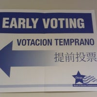 Photo taken at Chicago Board of Elections by Candice K. on 11/3/2012