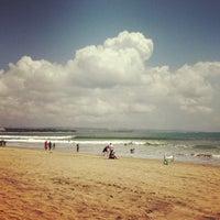 Photo taken at Legian Beach by Nadezda K. on 9/21/2012