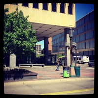Photo taken at 4th and Nicollet Mall Bus Stop by Ericka B. on 5/31/2013