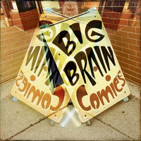 Photo taken at Big Brain Comics by Ericka B. on 9/4/2013