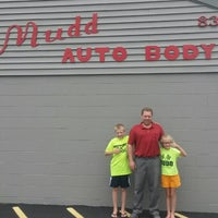 Photo taken at Mudd Auto Body & Frame by Karen M. on 6/12/2014