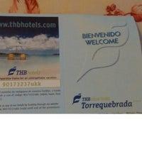 Photo taken at Hotel THB Torrequebrada Class by Rubén G. on 8/20/2015