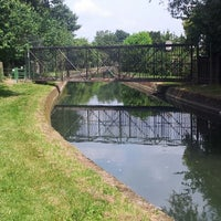 Photo taken at New River Path (East Harringay) by Neil A. on 7/13/2013