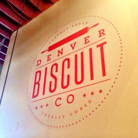 Photo taken at Denver Biscuit Company by Sherri M. on 4/8/2013