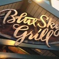 Photo taken at Blue Sky Grill by Sherri M. on 12/27/2012
