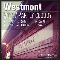 Photo taken at Metra - Westmont by Jason B. on 1/7/2013