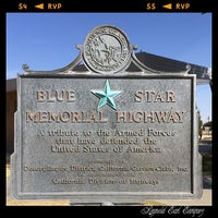 Photo taken at Blue Star Memorial Rest Stop by Earl E. on 4/21/2014