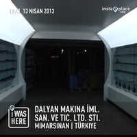 Photo taken at Dalyan Makina by Erkan D. on 4/13/2013
