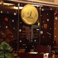 Photo taken at Papa John's 棒约翰 by Luka S. on 12/21/2012