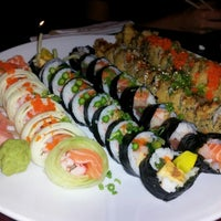 Photo taken at Hook's Sushi Bar & Thai Food by Jill V. on 9/21/2012