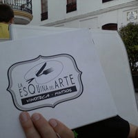 Photo taken at La Esquina Del Arte by Jaime T. on 7/28/2013