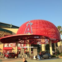 Photo taken at Angel Stadium of Anaheim by Eric P. on 7/6/2013