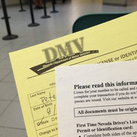 Photo taken at State of Nevada Department of Motor Vehicles by Eric P. on 7/27/2013