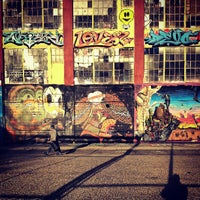 Photo taken at 5 Pointz by mark g. on 3/22/2013