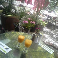 Photo taken at The Cloister Cafe by YY on 7/14/2013
