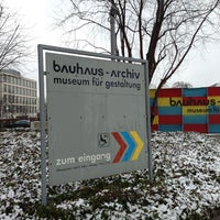 Photo taken at Bauhaus-Archiv by Laura on 2/19/2013