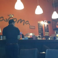 Photo taken at Aroma Café by Samir B. on 4/28/2013