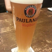 Photo taken at Brotzeit German Bier Bar & Restaurant by Siva P. on 1/23/2013