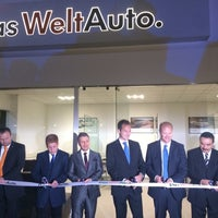 Photo taken at Das WeltAuto VAQCSA by Alessandra D. on 11/14/2014