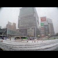 Photo taken at Shibuya Hikarie by prototechno on 1/14/2013