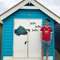 Photo taken at Brighton Bathing Box by Jonathan L. on 2/15/2018