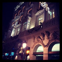 Photo taken at Gran Hotel Albacete by Pascual V. on 1/5/2014