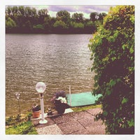 Photo taken at Margaretensee by Hannu P. on 6/15/2013