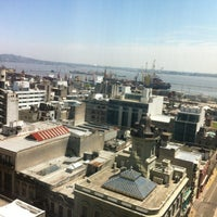 Photo taken at Radisson Montevideo Victoria Plaza Hotel by Erico F. on 10/28/2012