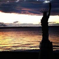 Photo taken at Alki Beach Park by Forrest K. on 5/27/2013