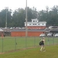 Photo taken at Alexandria High School by Kiley G. on 8/30/2013