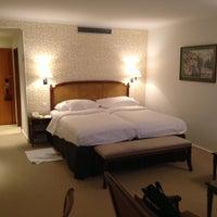 Photo taken at Hotel Bristol Geneva by Alejito on 4/15/2013