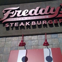 Photo taken at Freddy's Frozen Custard & Steakburgers by Christine V. on 9/15/2012