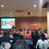 Foto tomada en CCOO por Josep M. R. el 11/16/2012