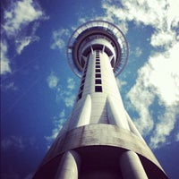 Photo taken at Sky Tower by Lily Aldrin Farhana on 11/20/2012