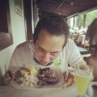 Photo taken at Senzala Restaurante by Marcelo S. on 9/15/2013