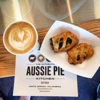 Photo taken at Fork-In Aussie Pie Kitchen, Santa Monica by Chenyu on 6/22/2014
