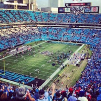 Photo taken at Bank of America Stadium by Lee Y. on 12/9/2012
