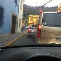 Photo taken at Los Piñones Con Bellavista by Clau on 10/1/2013