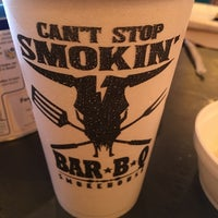 Photo taken at Can't Stop Smokin' BBQ by GAMA on 7/30/2016