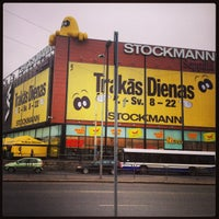 Photo taken at Stockmann by DAIGA on 4/12/2013
