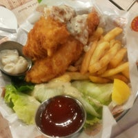 Photo taken at The Manhattan Fish Market by Mirushini R. on 4/19/2013