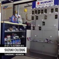 Photo taken at Suzuki Ciledug by Teguh R. on 10/14/2013