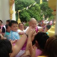 Photo taken at วัดบ้านอ้อ by Pimchanok on 7/6/2013